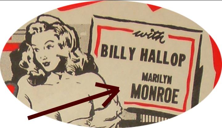 1947 MARILYN MONROE in DANGEROUS YEARS