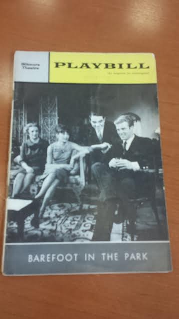 Robert Redford Broadway Playbill