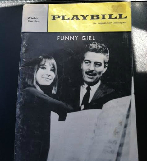 Barbara Streisand Funny Girl Playbill