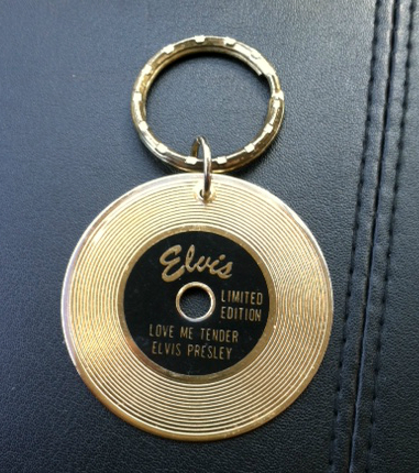 Elvis Presley Limited Edition Keychain