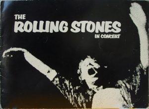 Rolling Stones Tour Program
