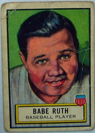 Babe Ruth Baseball Player