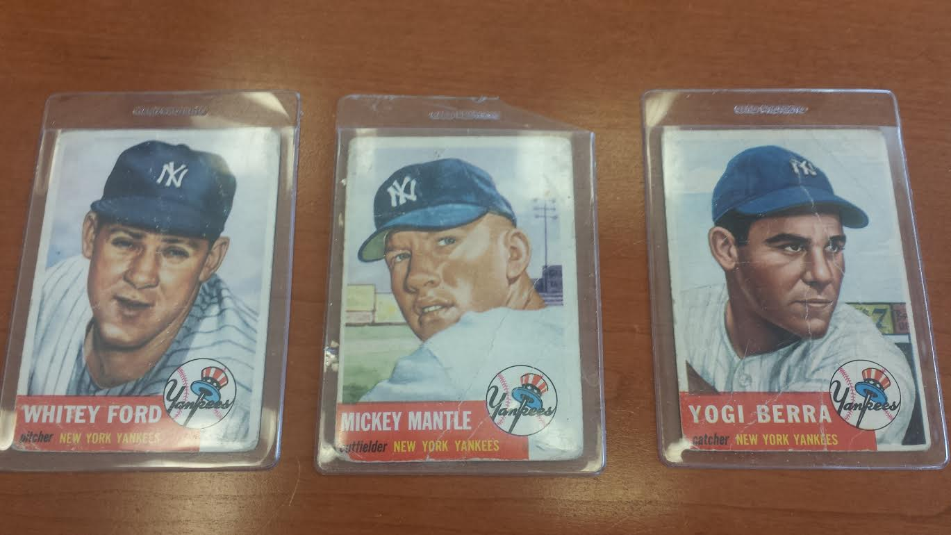 Micky Mantle Baseball Cards